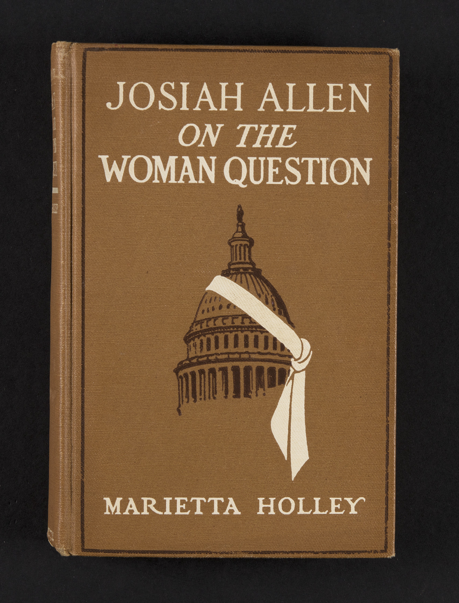 <b><i>Josiah Allen on the Woman Question </i></b><b>by Marietta Holley, 1914</b>