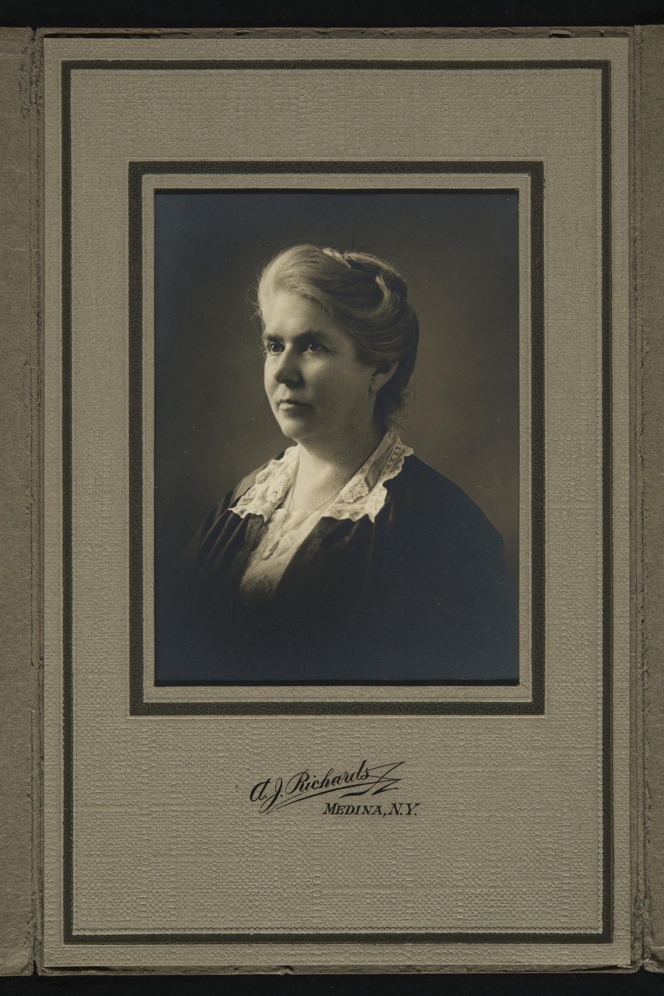 Portrait of Mary L. Matthews