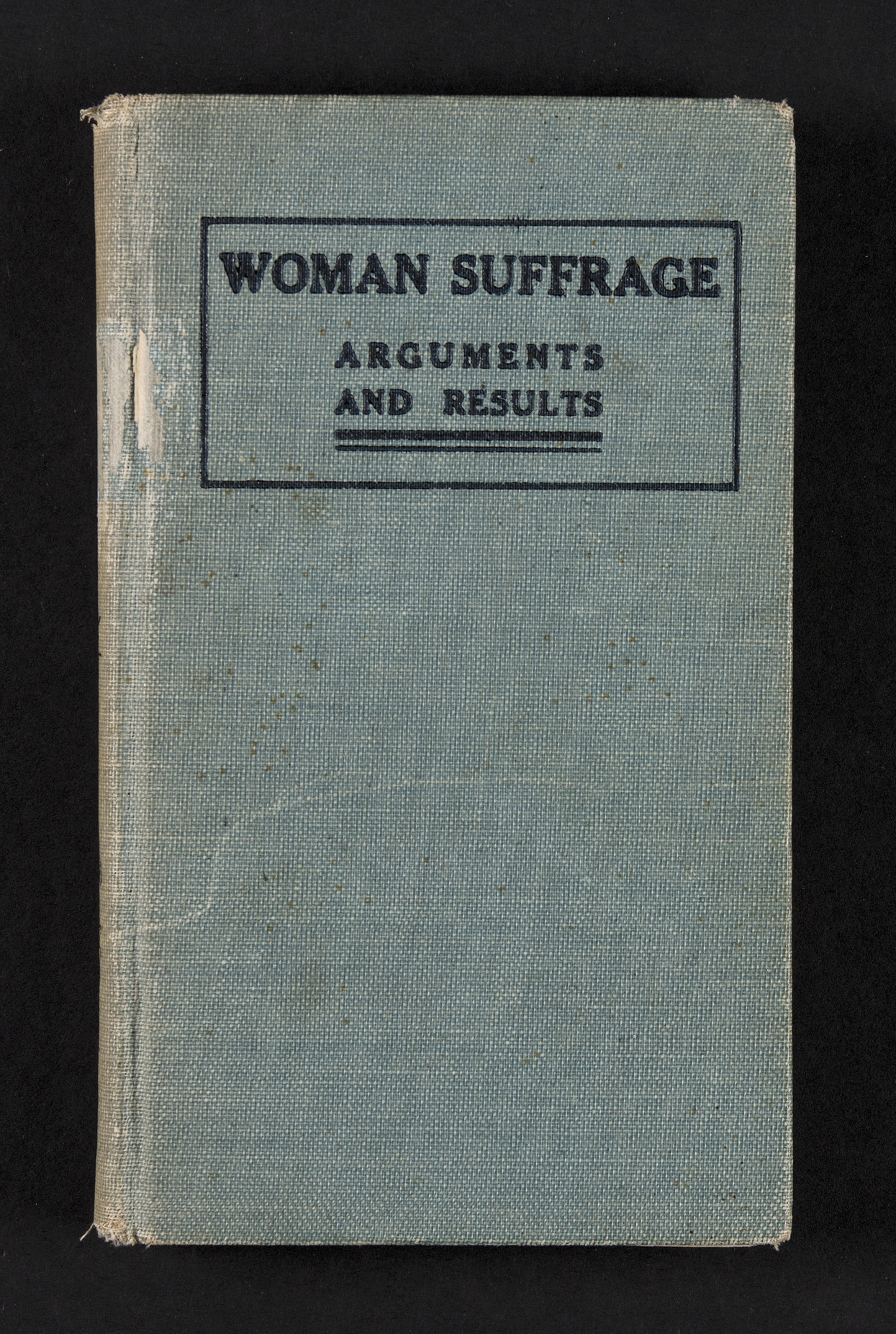 Various Pro-Suffrage Booklets, ca. 1890-1910<br />