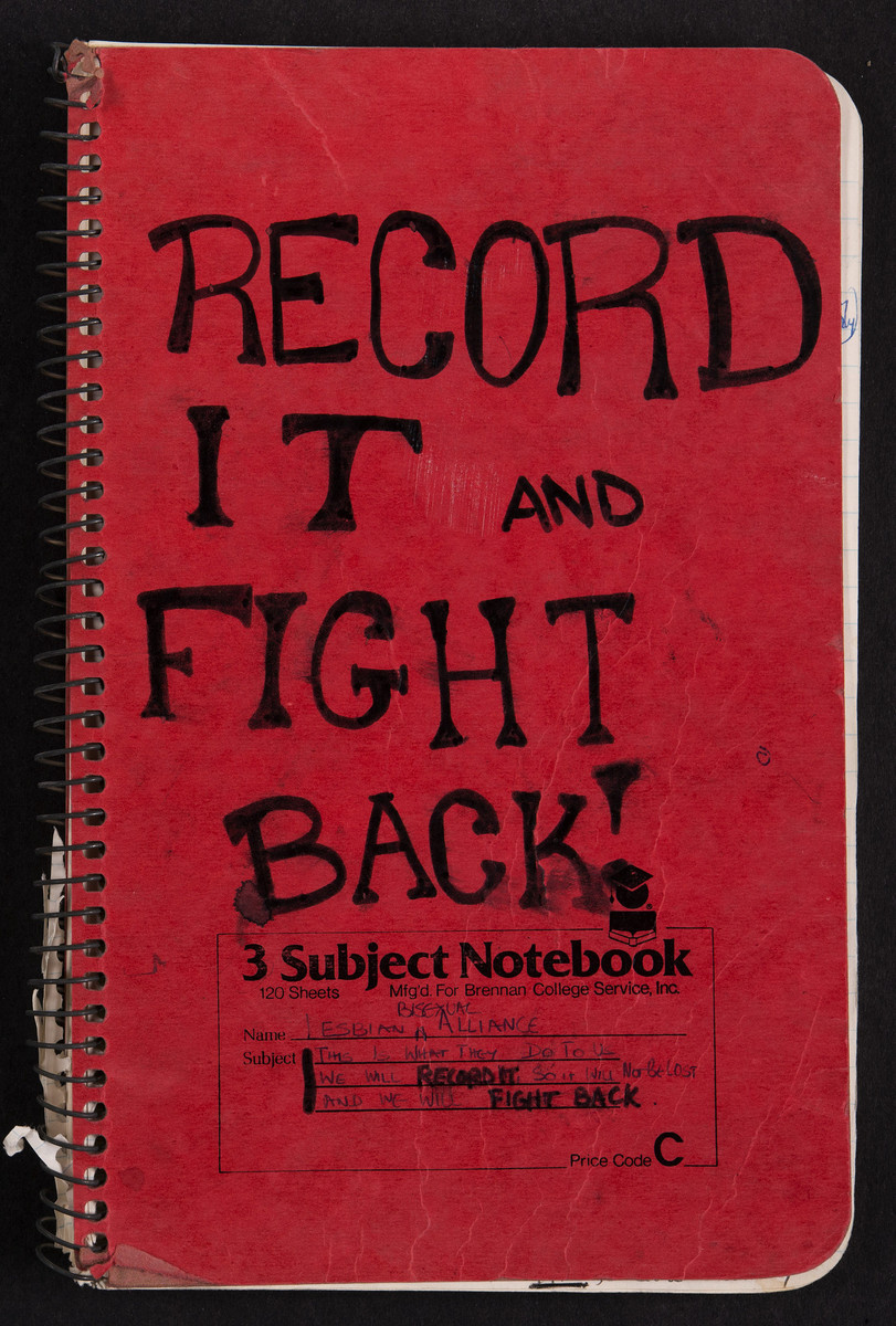 Record It and Fight Back Notebook