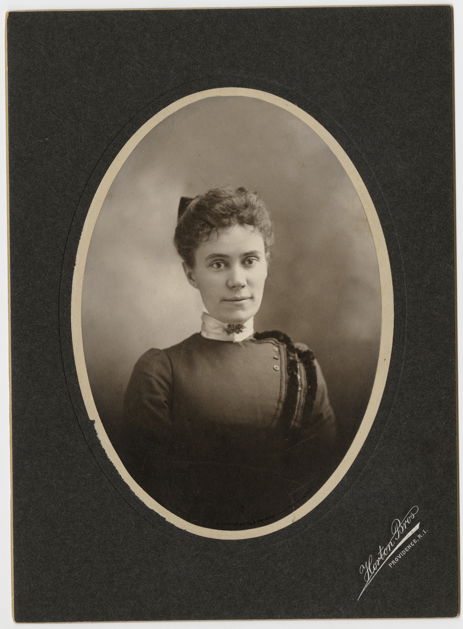 Mary Woolley as a young woman