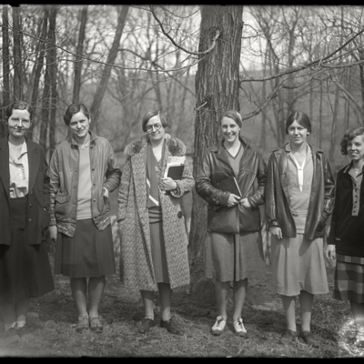 Mount Holyoke News Group 1930; Miss Smith