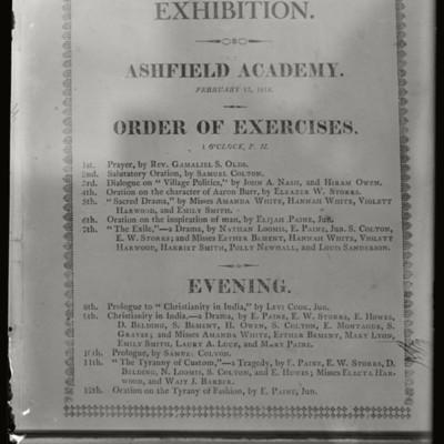 Sanderson Academy: Ashfield Academy framed programs