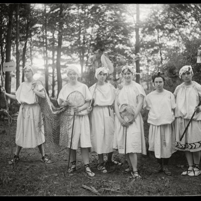 Classical & Archaeological Club: Latin Play May 23, 1922: Fisherman's Chorus