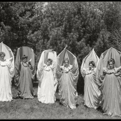 May Day 1902 Butterfly Dancers