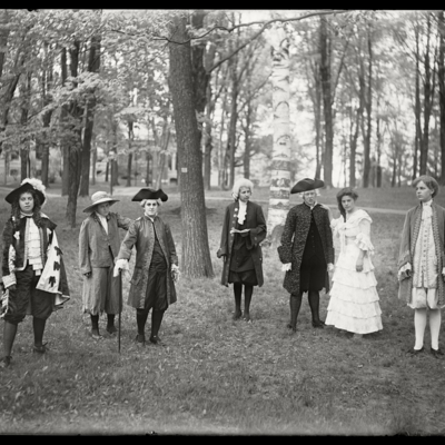 May Day 1911 Dramatic Club Fair Romancers