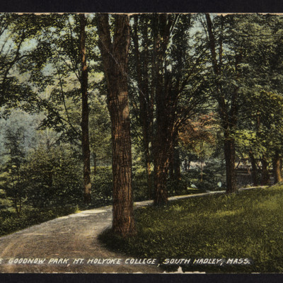 The Drive in Goodnow Park, c. 1906-11
