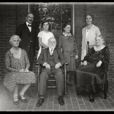 The Ball Family: August 1929