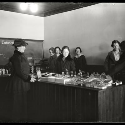 Store: Marjorie Platt, Miss Woolley