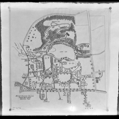 Plan of Grounds Campus Map (Stacy) 1922