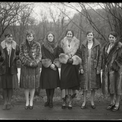 Mount Holyoke News Group Officers 1930