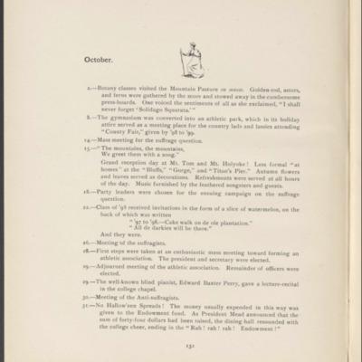 <h4><b>Class of 1897 </b><b><i>Llamarada</i></b></h4>