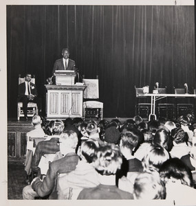 Ossie Davis at Civil Rights Conference, February 12, 1965