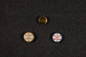 Votes for Women Pins, ca. 1914-1918