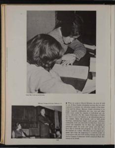 Fellowship of Faiths Page in the Class of 1964 Llamarada